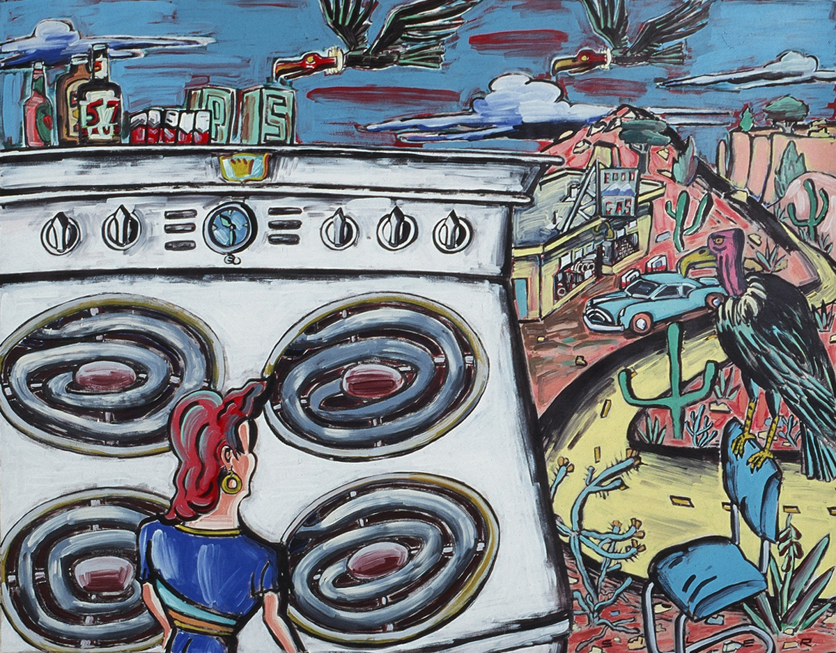 Patrick Siler, The Great Stove - 63x80